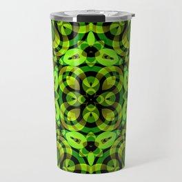 Floral Fractal Art G539 Travel Mug