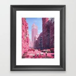 POOR RECEPTION (everyday 01.14.18) Framed Art Print