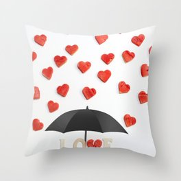 BUT ONLY LOVE CAN BREAK YOUR Throw Pillow