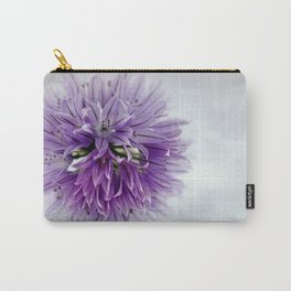 chives bloom Carry-All Pouch