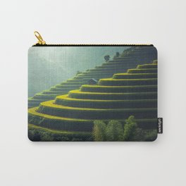 Thailand Rice Plantation Carry-All Pouch