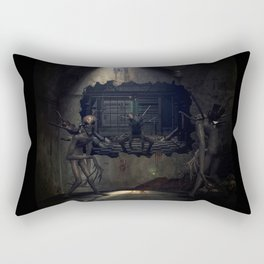 Demons come out to play Rectangular Pillow