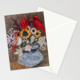 Cardinal Bouquet Stationery Cards