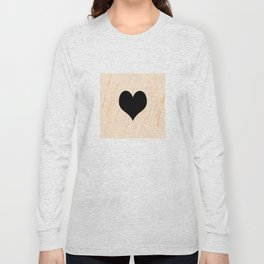 Scrabble Heart - Scrabble Love Long Sleeve T-shirt