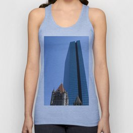 Forward and Back, Copley Square Unisex Tank Top