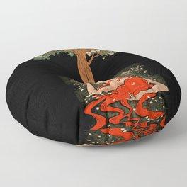 Spirit Of The Trees Floor Pillow