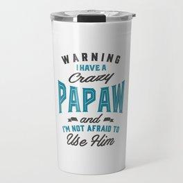 Gift for Papaw Travel Mug