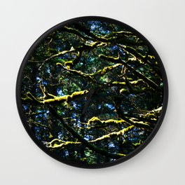 Moss & Branches Wall Clock