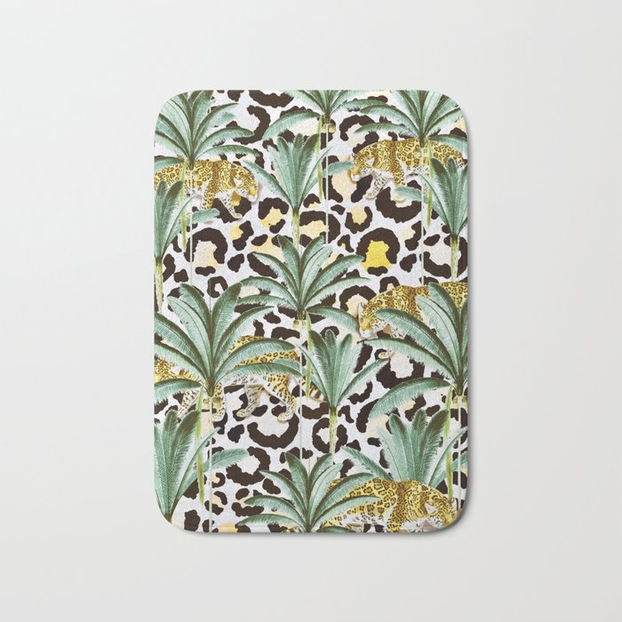Jungle prowl Bath Mat