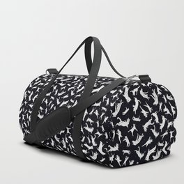 Flying Space Cats Duffle Bag