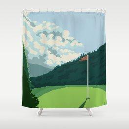 Golf Course Shower Curtain