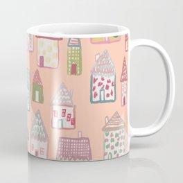 tiny village print - watercolor Coffee Mug