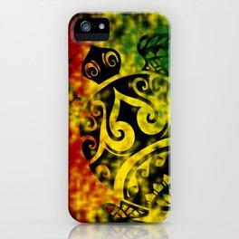Rasta Honu iPhone Case