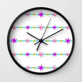 Bright Stars Wall Clock