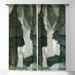 Pine Forest Clearing Blackout Curtain