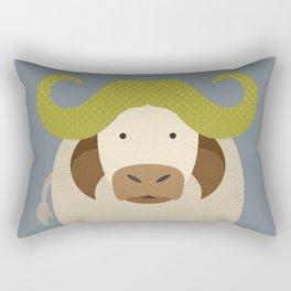 Whimsy Cape Buffalo Rectangular Pillow