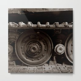 Wheels of War Metal Print