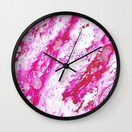 Rose Quartz 2 Wall Clock