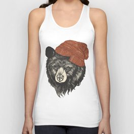 zissou the bear Unisex Tank Top