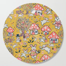 Easter Bunny/ Spring rabbit Cutting Board