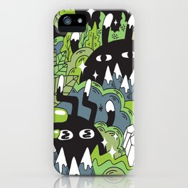 Little Lurkers iPhone Case