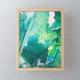 Environmental Importance, Deep Sea Water Bubbles Framed Mini Art Print