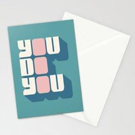 You Do You (2) Stationery Cards