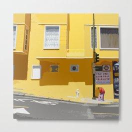 Yellow, San Francisco  Metal Print
