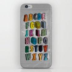 alphabet city iPhone & iPod Skin
