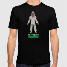 Nostromo Spacesuit Alien Mens Fitted Tee 2X-LARGE Black
