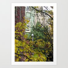 Come to my Window Art Print