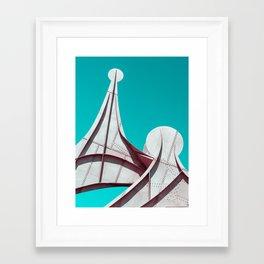 Surreal Montreal 4 Framed Art Print