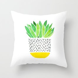 Spiky Cactus Throw Pillow