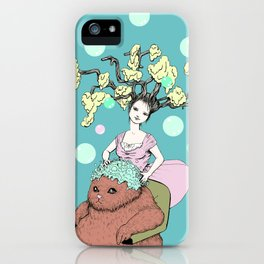Purr Hairdresser iPhone Case