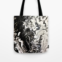 Positive or negative, you choose Tote Bag