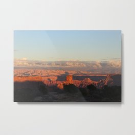 Dead Horse Point State Park sunset Metal Print