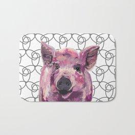 Precious Pig Bath Mat