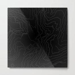 Sidney contours Metal Print