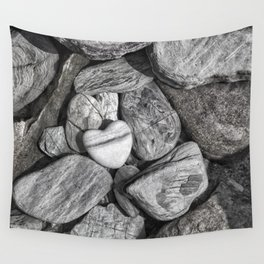 Stone Heart Wall Tapestry