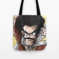 satan Tote Bags featuring Satan! by neicosta