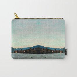 Peaceful river panorama | landscape photography Carry-All Pouch