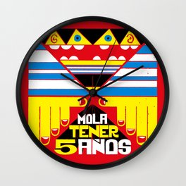 Mola Tener 5 Años / It´s Cool to be 5. Wall Clock