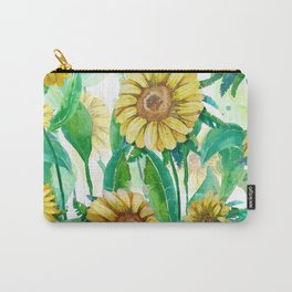yellow sunflowers Carry-All Pouch