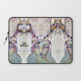 Dear Deer by Jane Davenport Laptop Sleeve