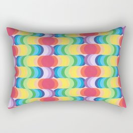 Rainbow Dragon Scales 2 Rectangular Pillow