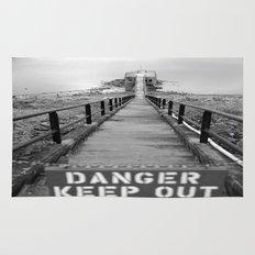 danger danger Rug