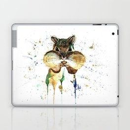 Chipmunk - Feeling Stuffed Laptop & iPad Skin