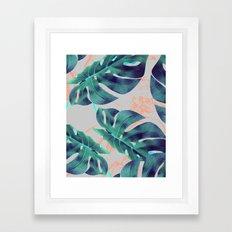 Be Tropical #society6 #decor #buyart Framed Art Print
