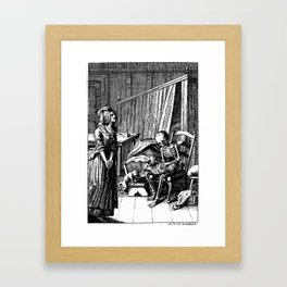 DEATH of CHILD Framed Art Print