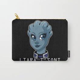Liara Is My Space Girlfriend Carry-All Pouch